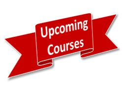 Upcoming courses