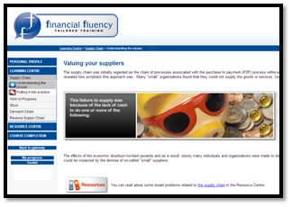 Cash Flow Management - supply chain