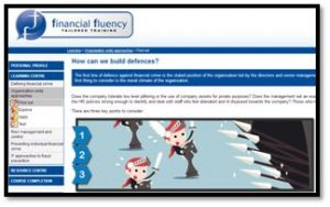 Preventing financial crime organisation