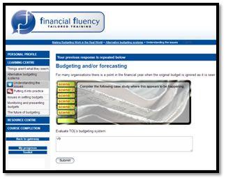 MBW Budgeting or Forecasting