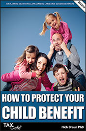 Protect your child benefit | Personal Tax Publication