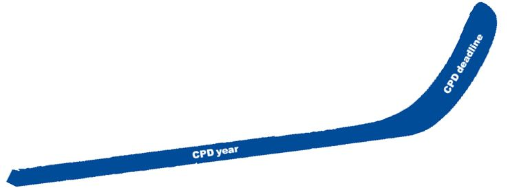 The CPD hockey stick